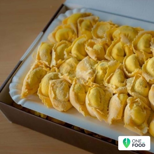 Tortelli Stuffed With Porcini Mushrooms And Asiago Cheese